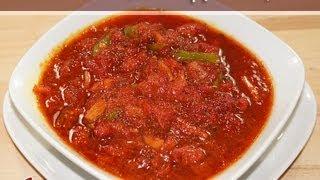 Rhubarb Chutney (relish) Recipe By Manjula, Indian Gourmet Condiments