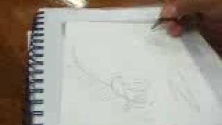Dibujando a Zeta Arauco!!