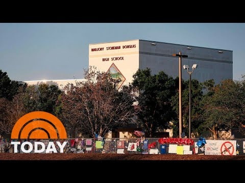 Students Return To Stoneman Douglas High School As Gun Debate Rages | TODAY
