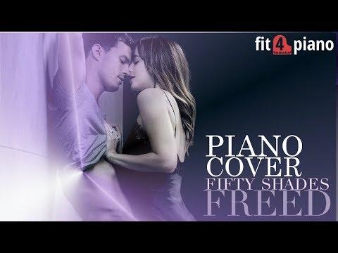 Fifty Shades Freed - Never Tear Us Apart (Piano Cover ) Soundtrack - Madina Rudi