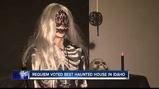 Requiem Haunted House Scares But Cares