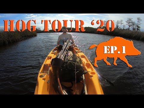 Hogs And Outlaws - Public Land Recurve Bow Hunting HOG TOUR '20 - Ep 1