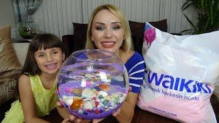 Lina'ya Sürpriz Balıklar ve Sürpriz Alışverişimiz Çok Sevindi