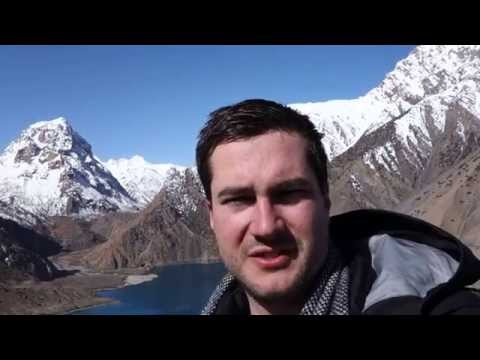 Iskander Kul lake in Tajikistan