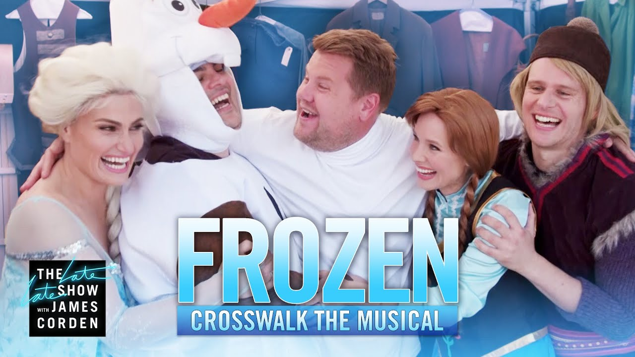 Crosswalk the Musical: Frozen ft. Kristen Bell, Idina Menzel, Josh Gad & Jonathan Groff