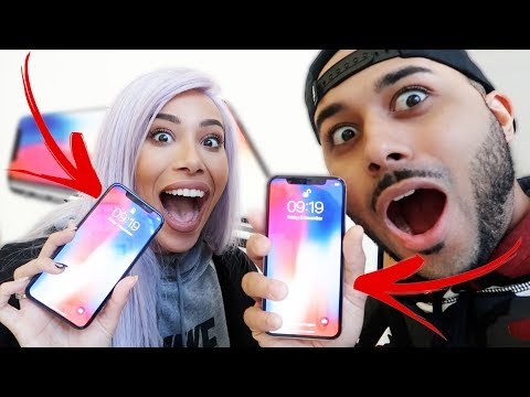 Download Youtube: UNBOXING THE NEW IPHONE X!!!