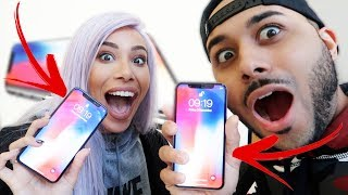 UNBOXING THE NEW IPHONE X!!!