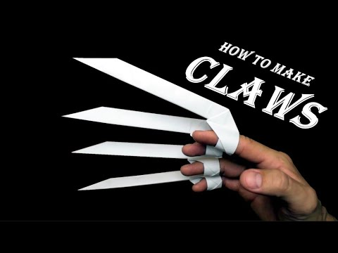 How To Make Claws Out Of Paper  Origami Claws