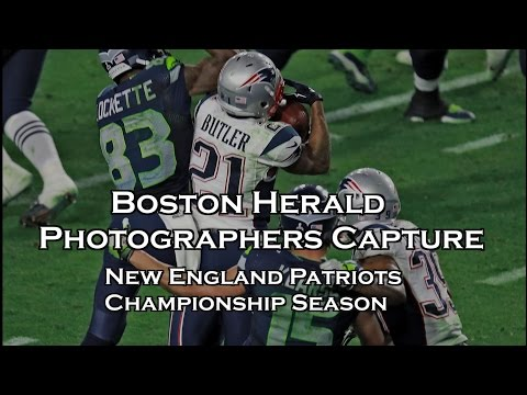 Boston Herald Photographers Capture Patriots Super Bowl Championship Season