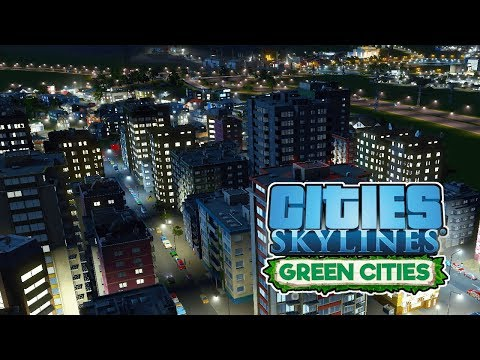 High Density Highrise! – Cities Skylines Green Cities Gameplay – Let's Play Part 7