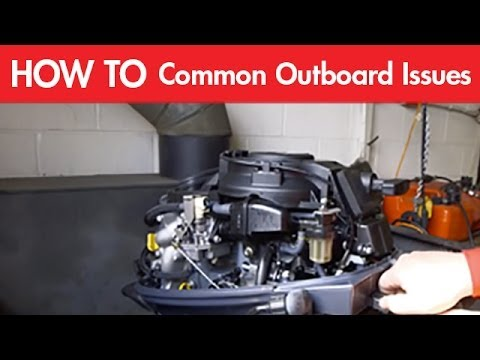 The Most Common Outboard Engine Issues: Fuel Systems and Flushing  YouTube