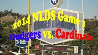 NLDS GAME 1 Dodgers vs. Cardinals | October 3, 2014