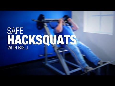 Big J's Workout Tips: How To Hack Squat