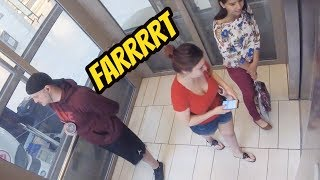 fart prank with liquid ass