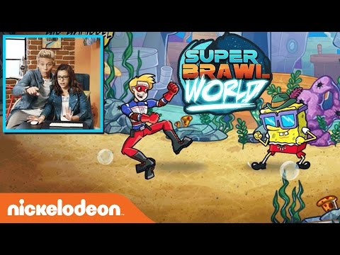 "Game Shakers Play ""Super Brawl World"