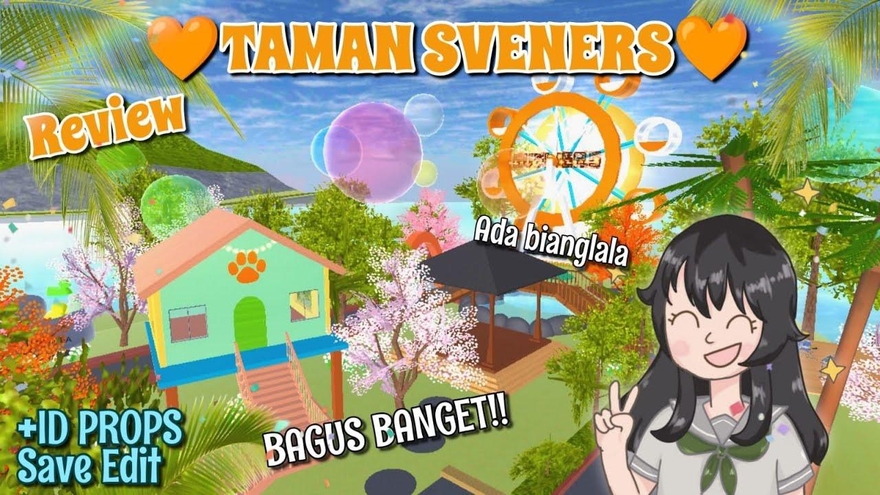 Buatin TAMAN SVENERS UNTUK KALIAN!!! 🧡🧡🧡 di Pulau Misterius + ID | SAKURA SCHOOL SIMULATOR
