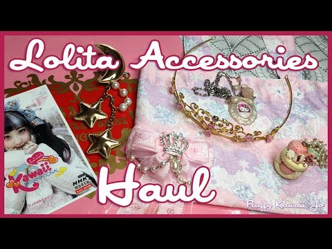 Haul from Lolita Facebook sales group - jewelry and accessories
