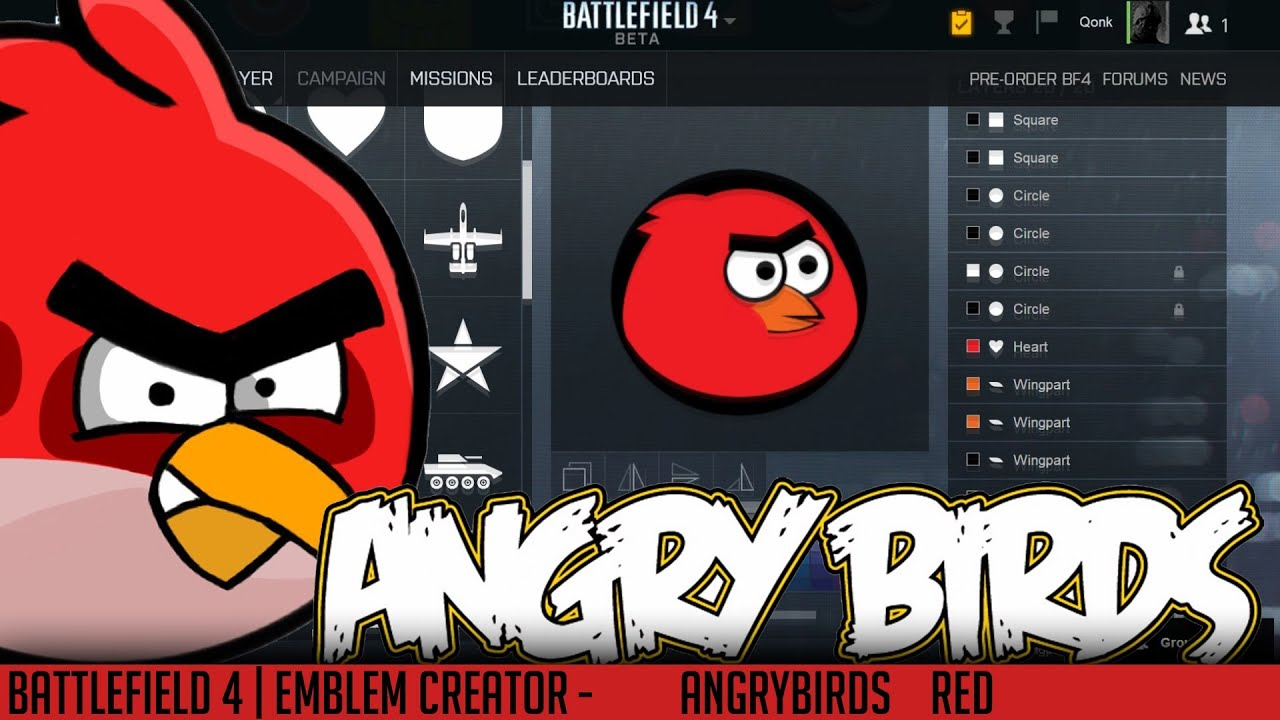 how to change bf4 emblem