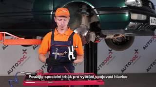 Jak vyměnit čep táhla řízení na VW GOLF 3 [NÁVOD]