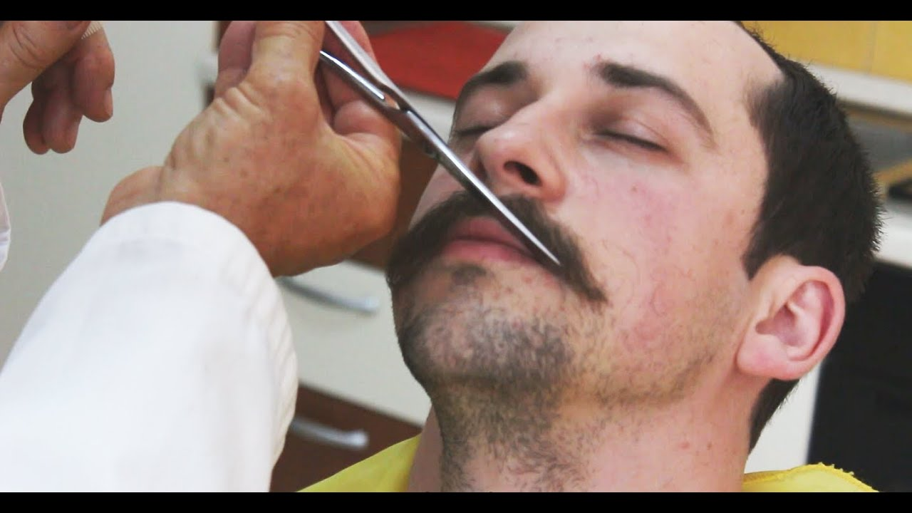 Watch How to Groom a Moustache video