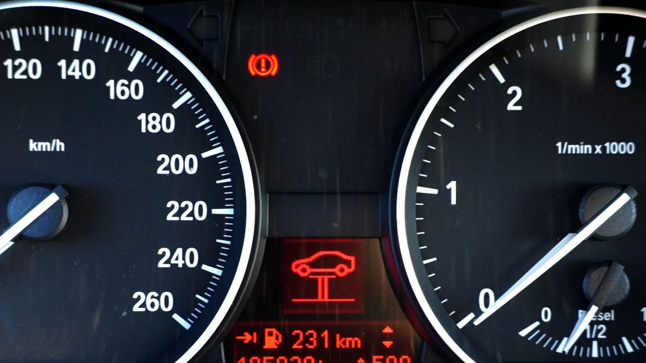 ... Service Light Series E E Warning Ramp Symbol How To Reset BMW Service  Light Series E E Warning Ramp Symbol Red Warning Lights In Dash Not Sure  What It ...