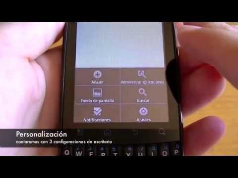 Motorola Fire: Vistazo General y Sistema Operativo