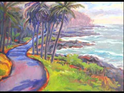 Big Sur to Big Island - Landscape Paintings by Abbie Rabinowitz