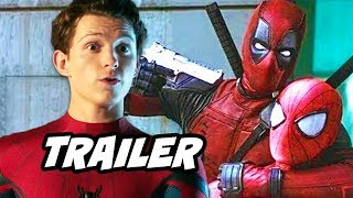 Spider-Man Far From Home Trailer and Deadpool Avengers News Breakdown
