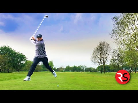 Does The 'HAPPY GILMORE' Golf Swing Work?