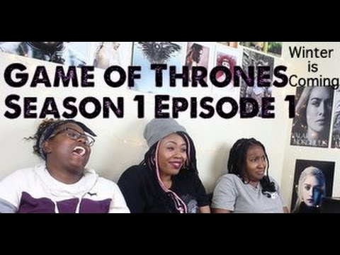 Game of Thrones REACTION Season 1 Episode 1  Winter is Coming