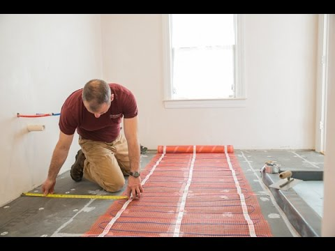 Remodeling With Electric Radiant Heat You