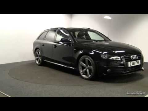 2011 audi a4 avant tdi s line black edition youtube. Black Bedroom Furniture Sets. Home Design Ideas