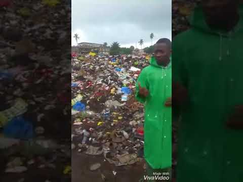 A solution to waste plastic in SierraLeone