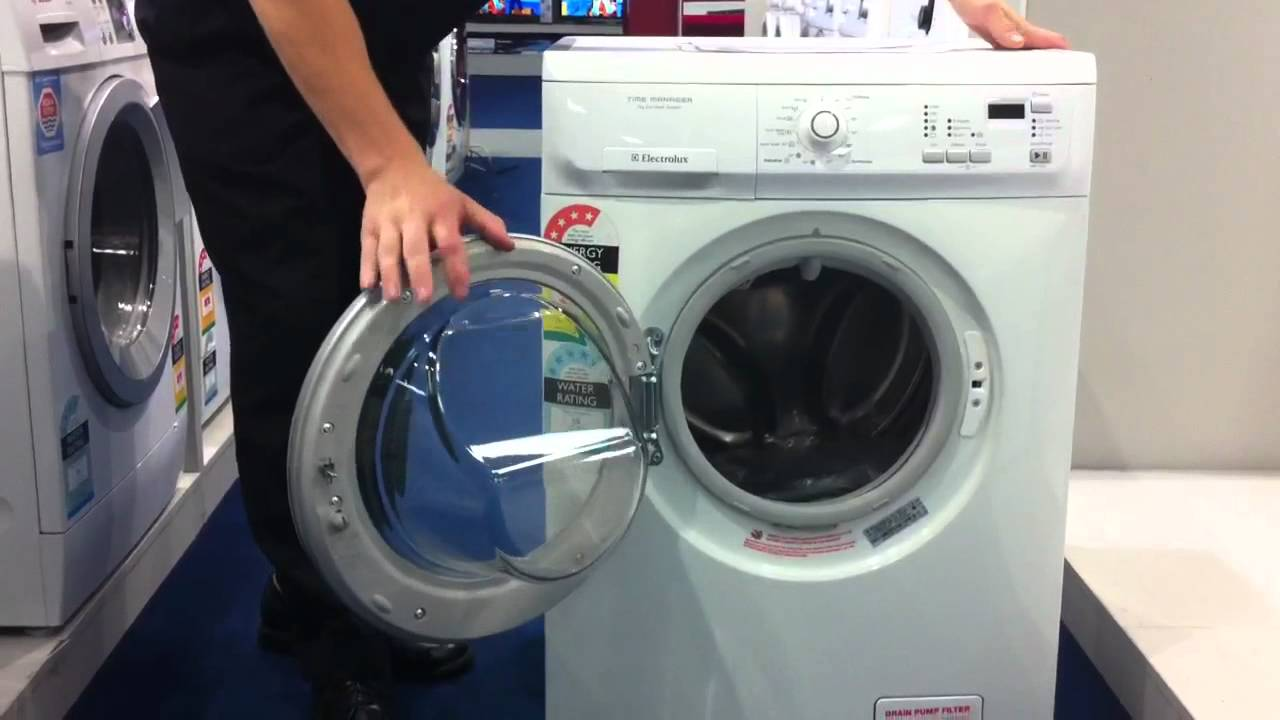 electrolux 7kg front load washer ewf1074 youtube rh youtube com