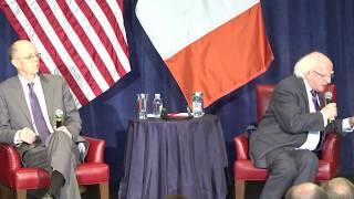 Michael D. Higgins, president of Ireland