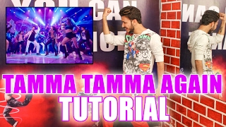 Tamma Tamma Again Dance step Tutorial | Varun , Alia |