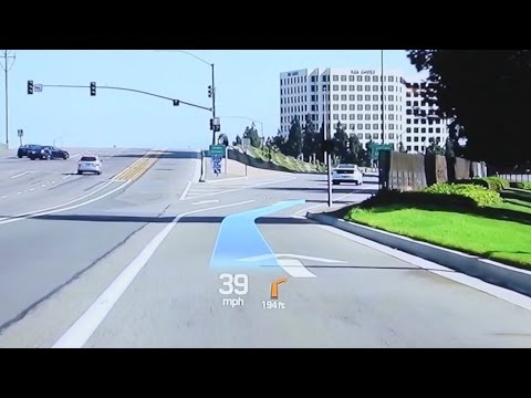 Hyundai Augmented Reality Demonstration - CES 2015