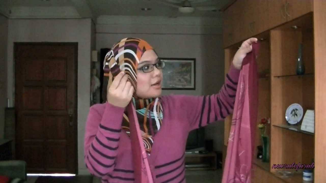Tutorial How To Style Your Hijab Shawl Tudung The Muslimah Way