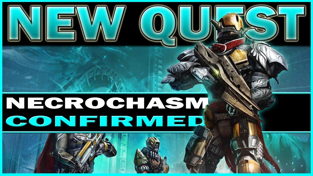 destiny - new necrochasm quest! exotic questline (age of triumph
