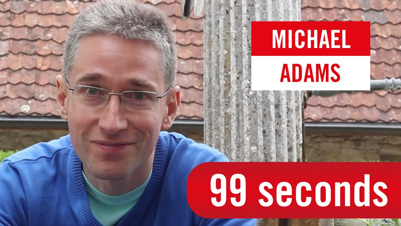 99 Seconds with Michael Adams