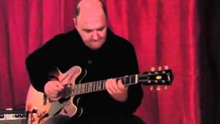 Round Midnight Peter O´Mara Jazz Guitar Chord Melody Arrangement