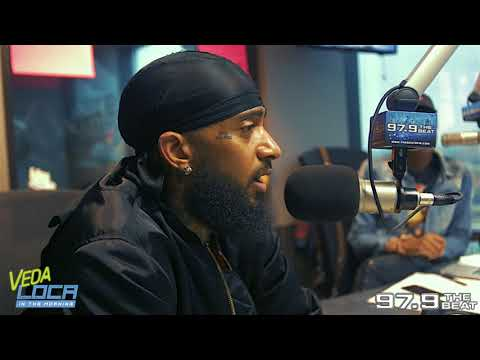 Nipsey Hussle still bangs Rollin' 60s Crips and eats Injera!