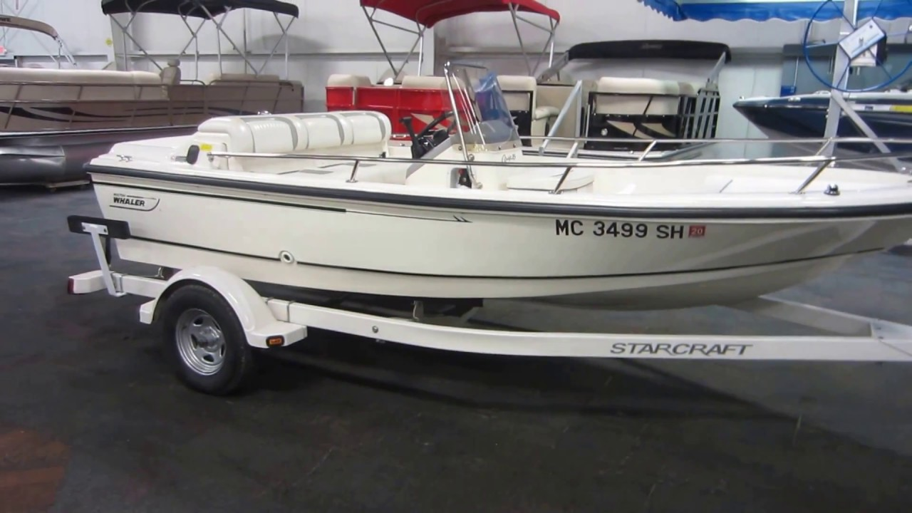 1995 Boston Whaler Rage 15 Jet 115hp for sale in Angola, IN