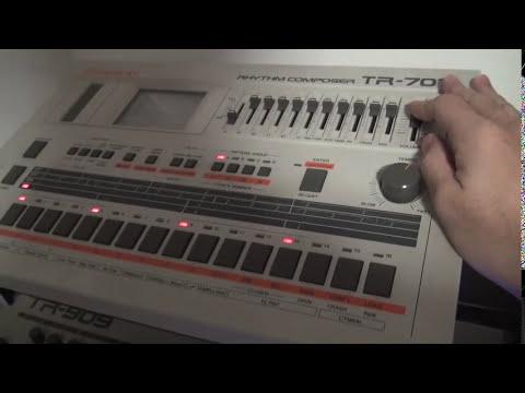 Roland TR-707 VS AIRA 7X7-TR8 Quize A/B TEST