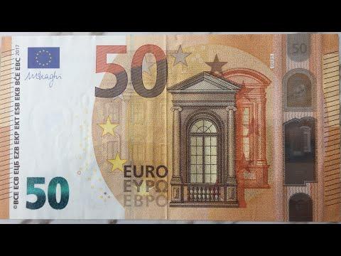 50 EURO 2017 BANKNOTES / MY COINS