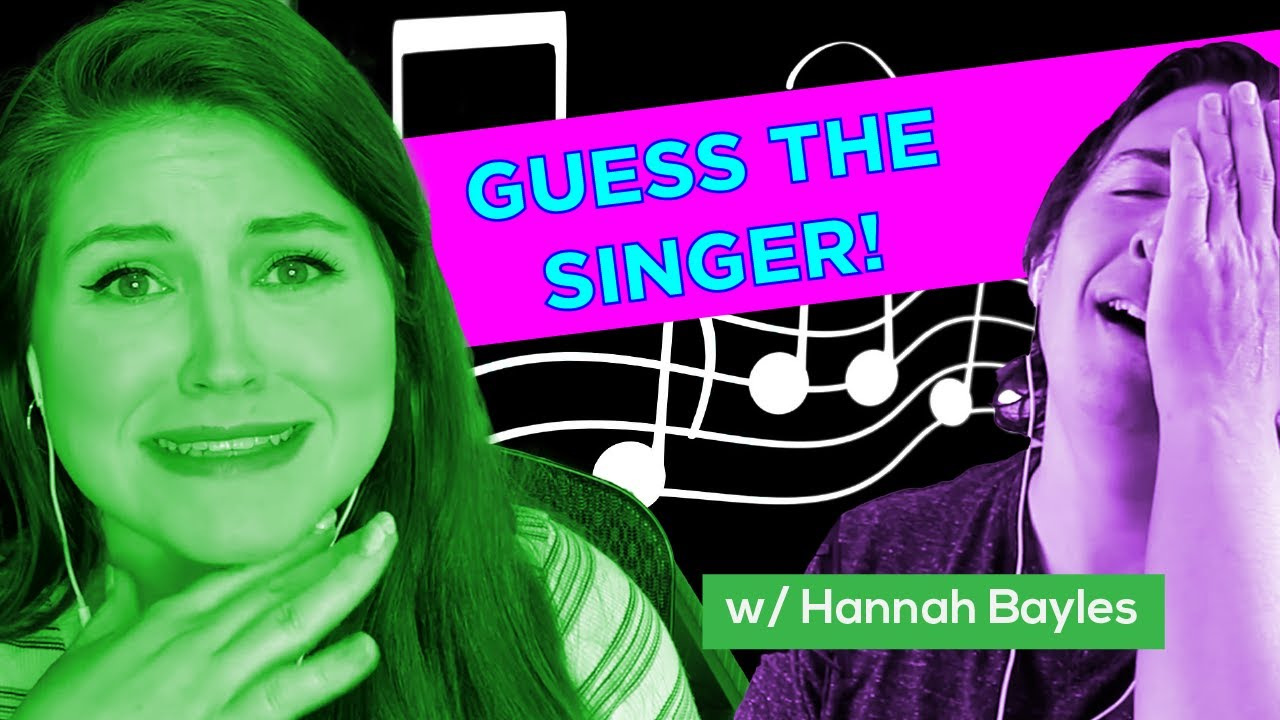 Just a Sec...Vocal Coaches Guess the Singer with One Second of Isolated Vocals