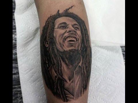 8 hour bob marley tattoo youtube for Bob marley tattoo