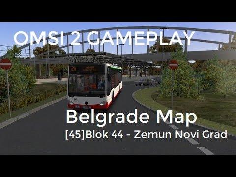 Prava Mapa Beograda U Igrici Omsi Bus Simulator Najbolji