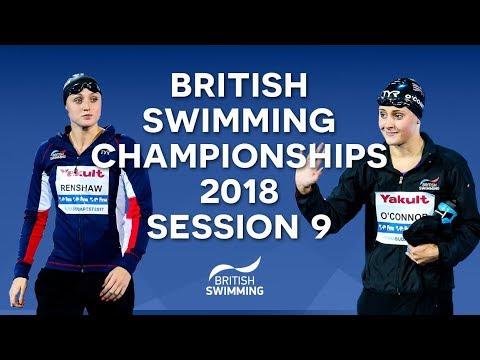 EISM inc. British Swimming Championships 2018 - Session Nine