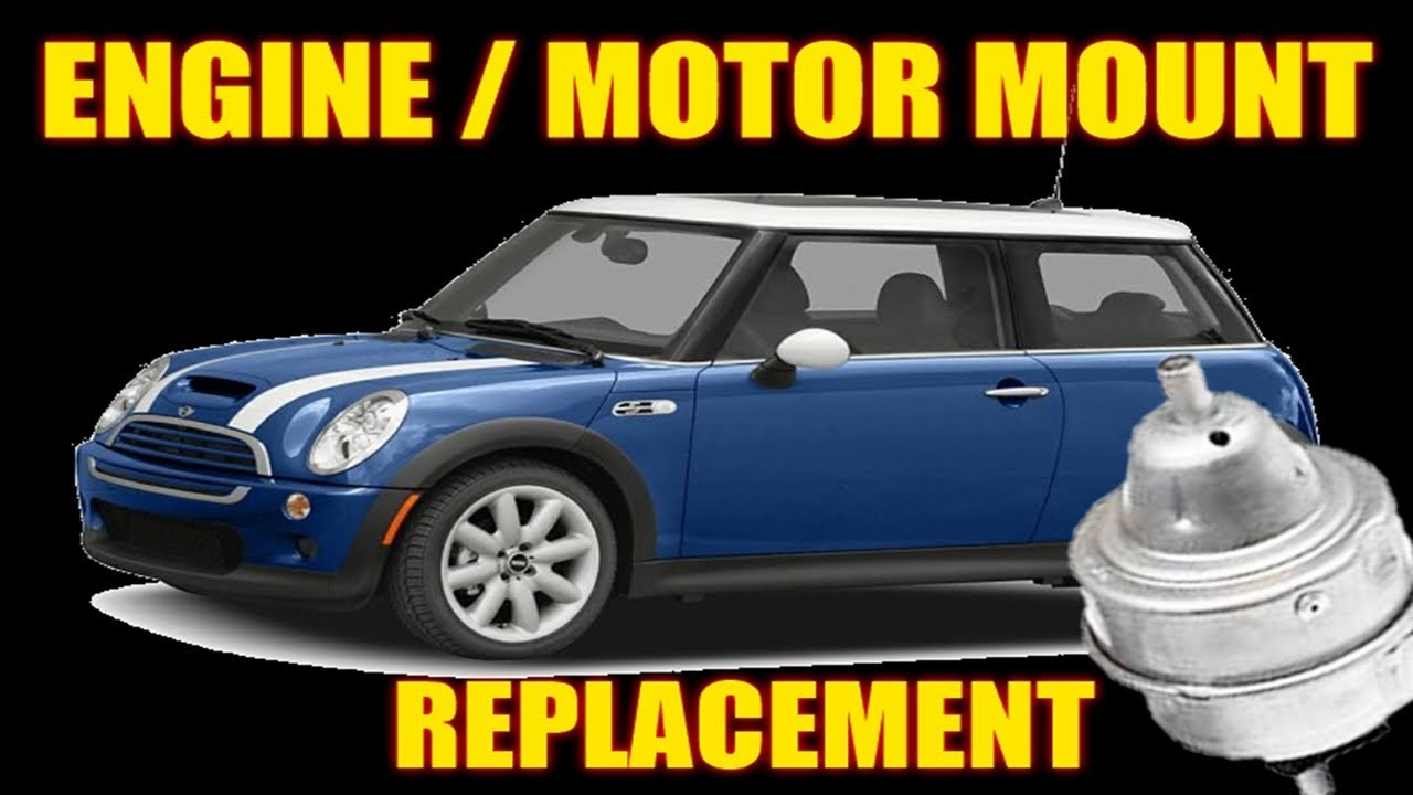 HOW TO DIAGNOSE AND REPLACE A BAD MOTOR/ENGINE MOUNT [01-06 MINI COOPER  PASSENGER SIDE]